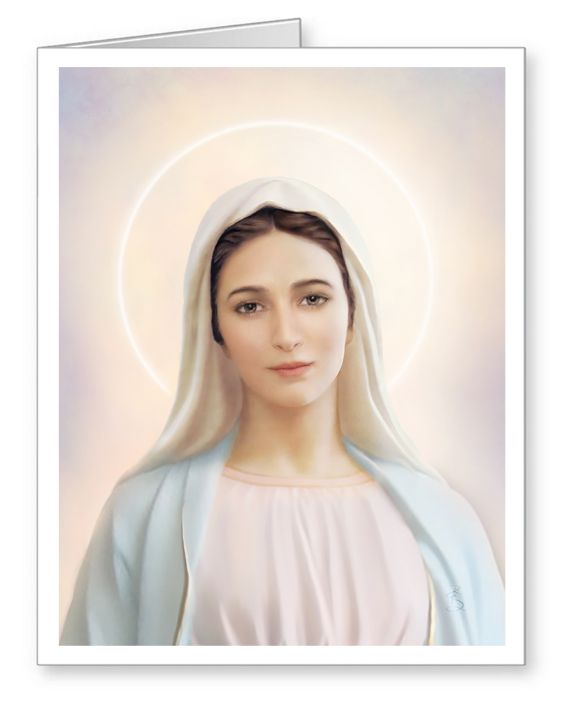 Our Lady of Tihaljina-Medjugorje Note Cards